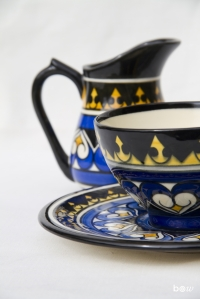 tasse et lait bleu jaune (2)