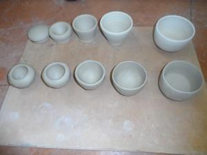 fabrication du bol en céramique différentes étapes