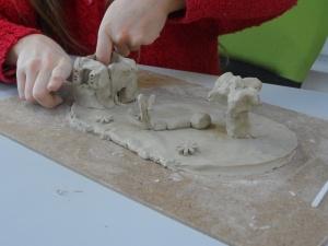 Stage enfant poterie Patiau