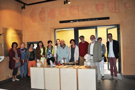 Les associations Art-Terre, Les Ateliers du Bon Père Laurent, Les Ateliers de Rochefort-en-Terre, Terre de Potiantes et le Centre Social de Redon étaient présentes.
