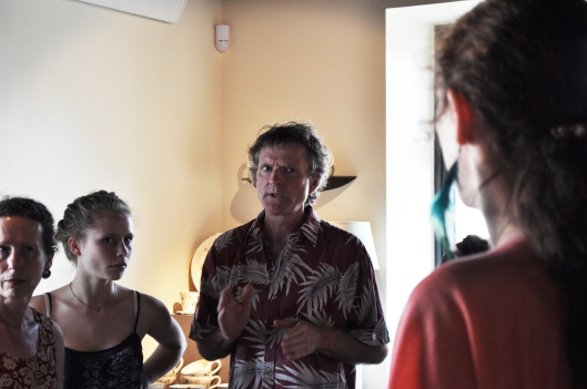 De plus, l'exposant/potier Sean Miller (Peillac) était présent afin de présenter son travail autour de la vaisselle en terre.
