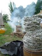 Four papier tressé, il est monté à plus de 950°C