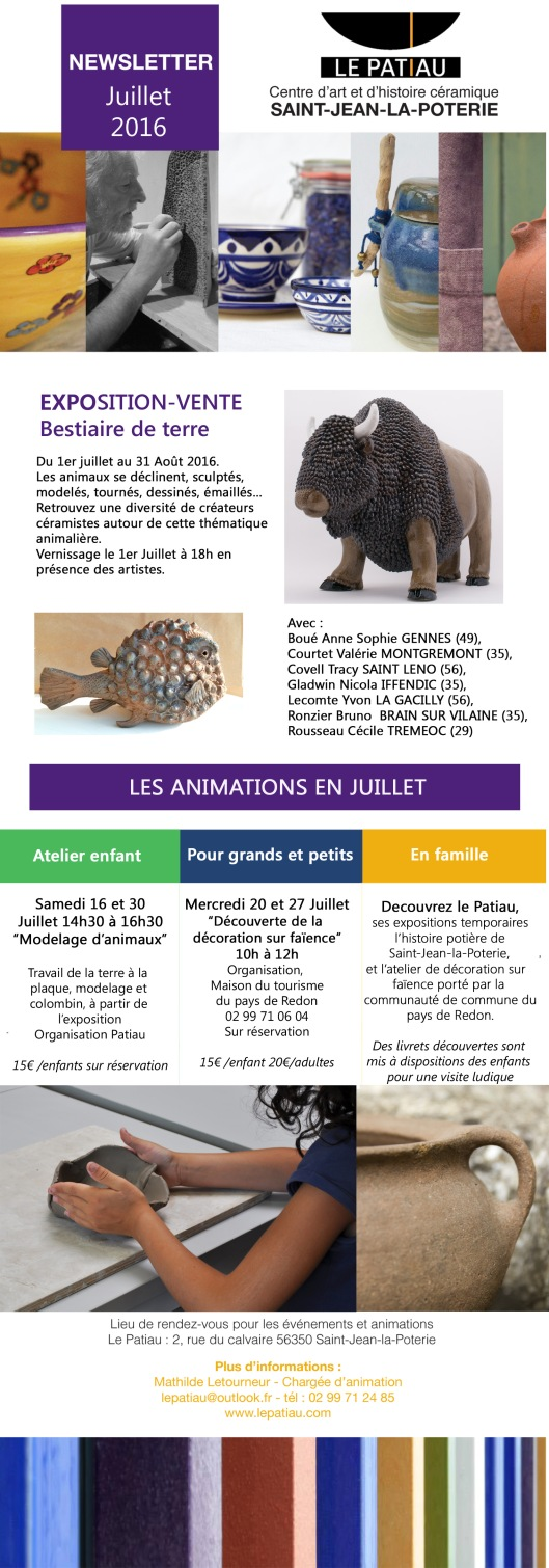 NEWSLETTER juillet 2016 copie