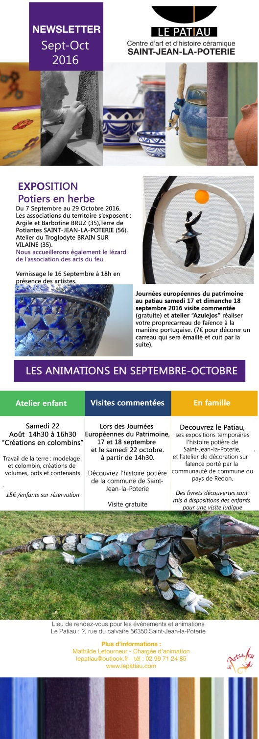 NEWSLETTER sept-oct 2016 copie